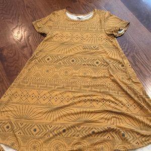 LuLaRoe Carly dress size small